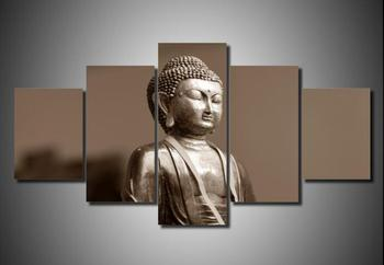 2017 Unframed Wall Art Canvas Modern Painting Buddha Printed Pictures Home Decoration