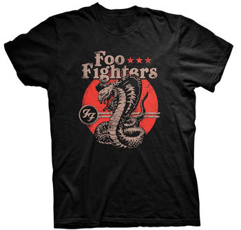 FOO FIGHTERS 'Snake' T-SHIRT-Nuevo y Oficial
