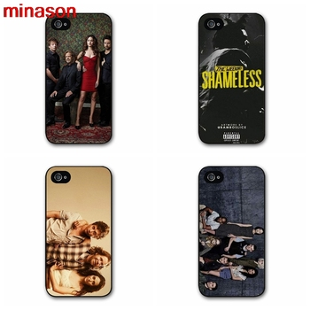 Minason Utanmaz Fiona Gallagher Kapak kılıf iphone 4 4 s 5 5 s 5c 6 6 s 7 7 8 artı samsung galaxy s3 s4 S5 S6 Not 2 3 4 E0620