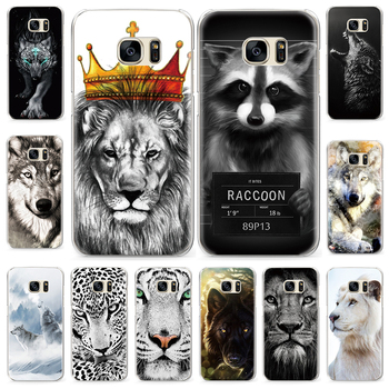 Cool Animal Pattern Case for Samsung Galaxy S3 S8 S4 S5 Mini S6 S7 Edge Plus Case