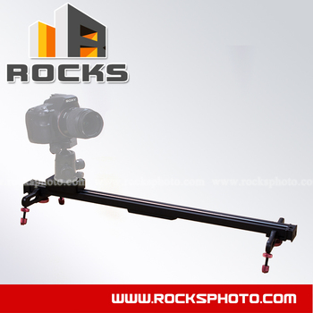 "24 ""(600mm) Video Slider Ray Dolly parça Kamera Kamera Slider İzleme"