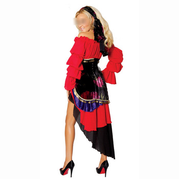 İspanyol flamenko mexican latin dansçı kostüm can can saloon fantezi dress dancing kostüm